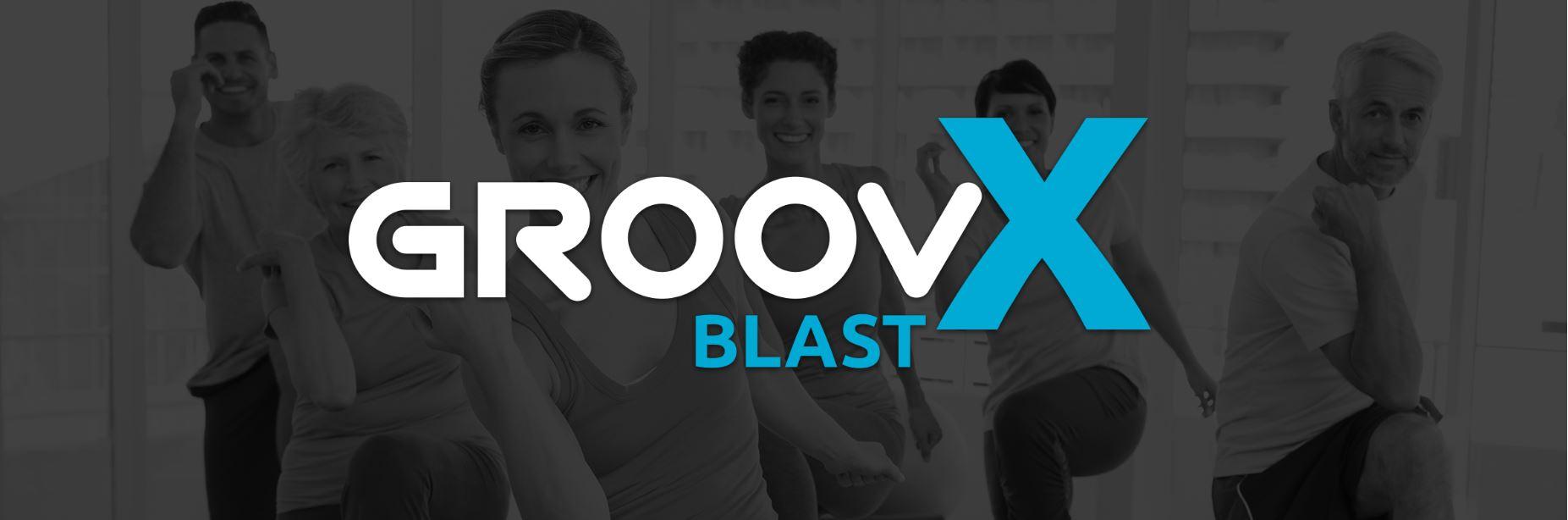 groovX blast logo