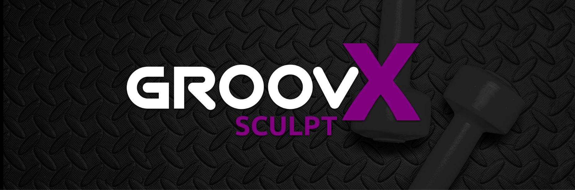 Groovx sculpt logo web